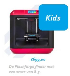 Flashforge finder 3d printer kinderen