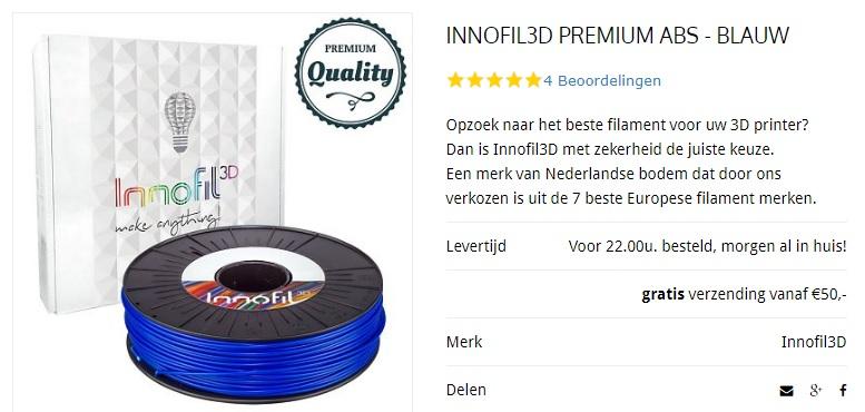 INNOFIL3D filament kopen