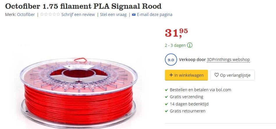 octofiber filament kopen