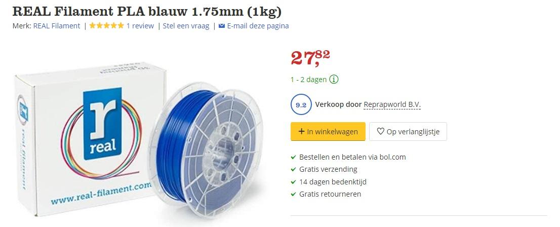 real filament kopen